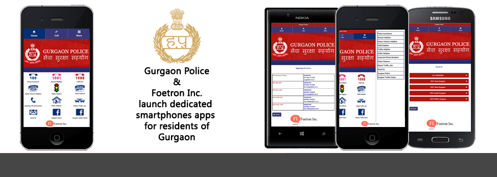 Bringing Gurgaon Police to your smartphone for simple and fast access.