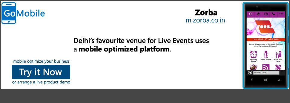 Zorba uses a mobile platform that works.