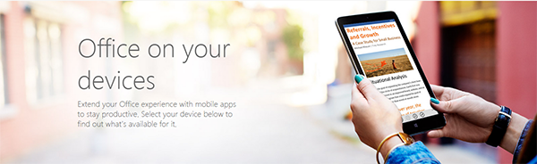 Set up a mobile device using office 365 foetron - Office for mobile devices ...